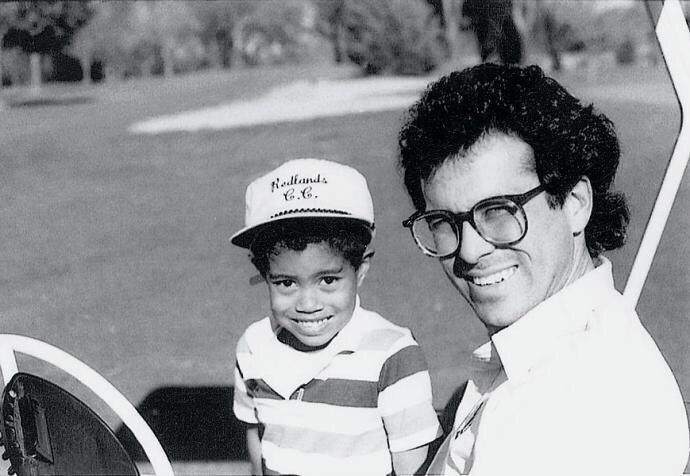 Proponent Look-Back: Tiger Woods, Age 4, Meets Instructor Rudy Duran